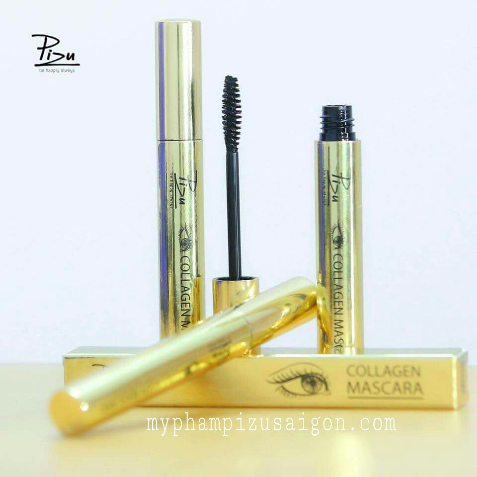 mascara collagen pizu
