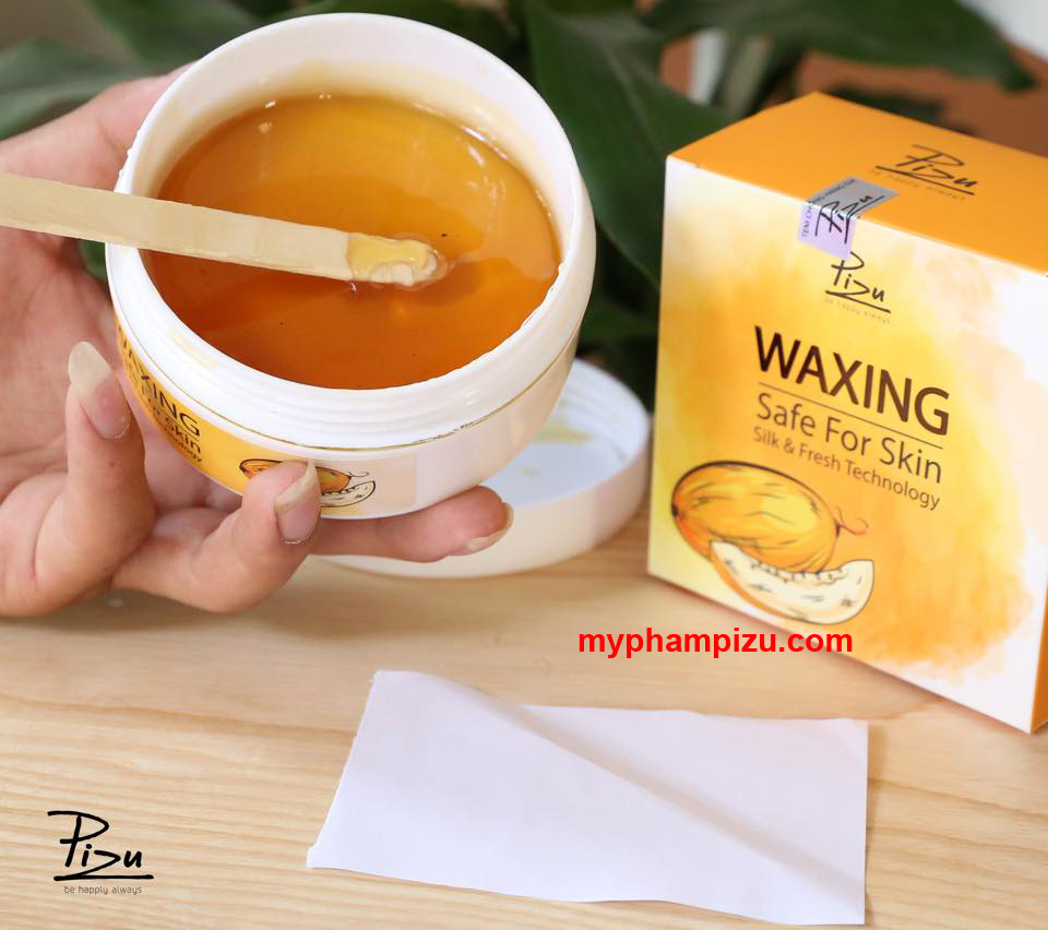 Waxing mật Dưa Gang Pizu - Waxing safe for skin